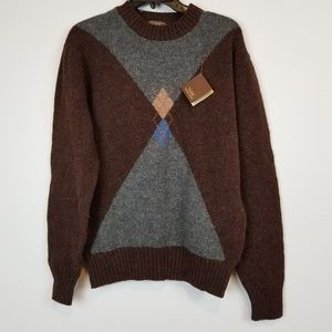NWT men's THANE wool sweater top size M